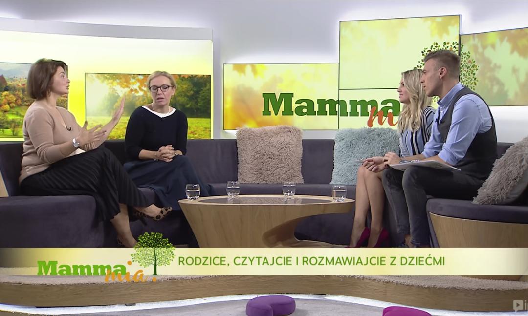 Fundacja Edico z MariąDeskur w Polsat Rodzina!